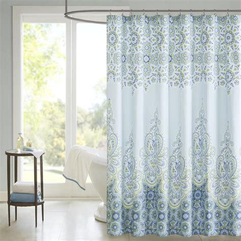 madison park armelle cotton shower curtain