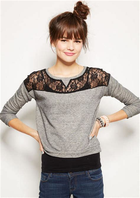 Chest Lace Shirt S Xl lace chest sweatshirt sweatshirts hoodies tops clothing 1