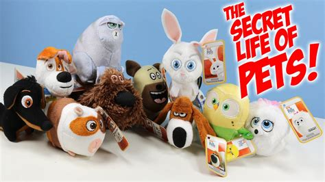 Happy Meal Mcdonald The Secret Of Pets happy meal the secret of pets mcdonald s plush collection