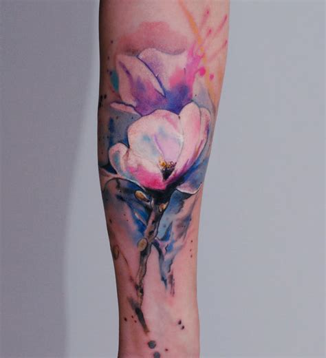 watercolor tattoo over time what you need to before you get a watercolor