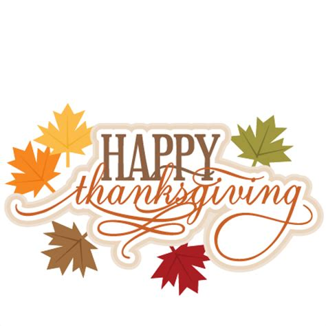 happy thanksgiving svg scrapbook title thanksgiving svg