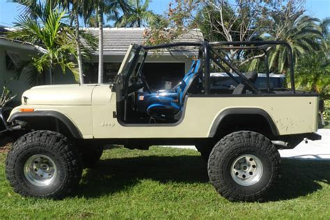 Jeep Scramblers For Sale For Sale 1984 Jeep Cj8 Scrambler Grab A Wrench