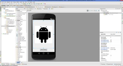 tutorial android imageview android studio android imageview exle