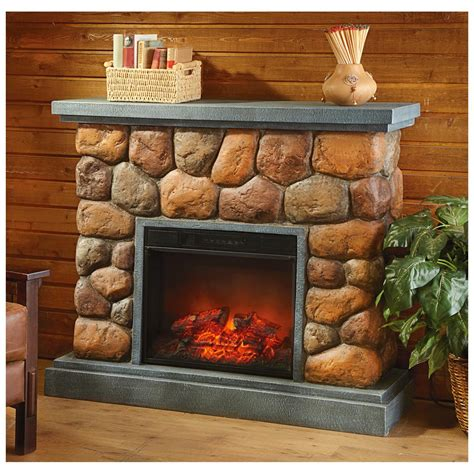 Imitation Fireplaces by Castlecreek 174 Imitation Fireplace 420851 Fireplaces At Sportsman S Guide