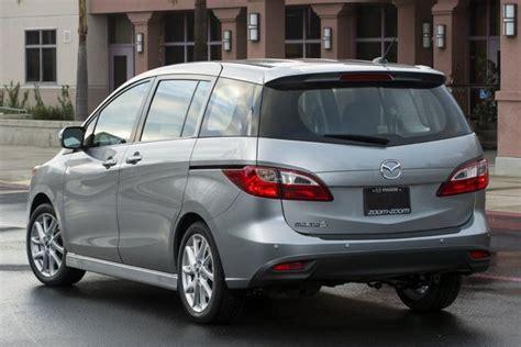 most fuel efficient vansminivans of 2014 mazda mazda5 kelley blue 2014 mazda5 new car review autotrader