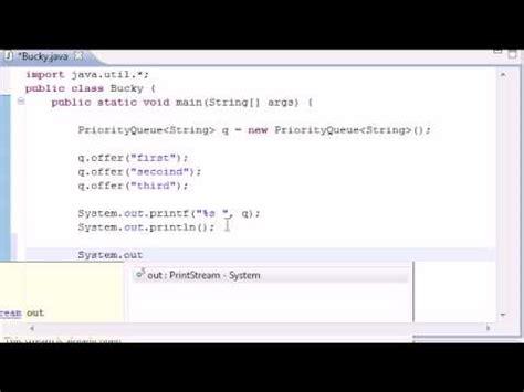 java tutorial queue intermediate java tutorial 15 queue youtube