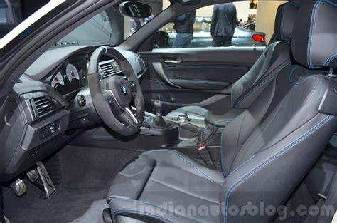 Bmw Interior Parts by Bmw M2 With M Performance Parts Interior At 2016 Geneva