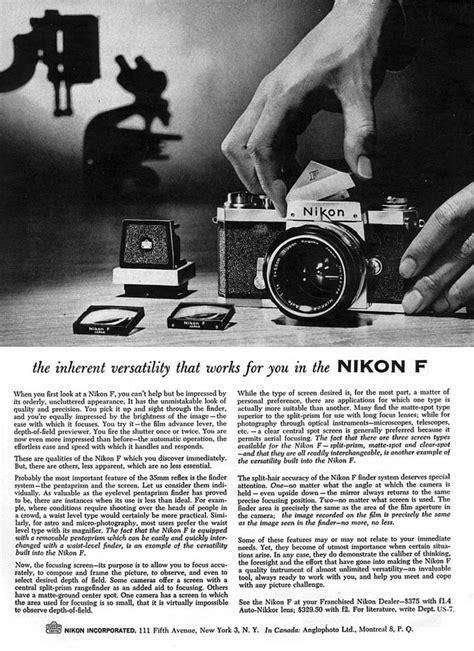Collection of vintage Nikon ads - Nikon Rumors