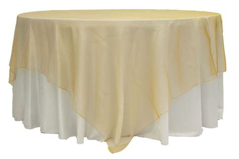 Square Organza Gold organza 90 quot square table overlay gold antique wedding ideas overlays antique