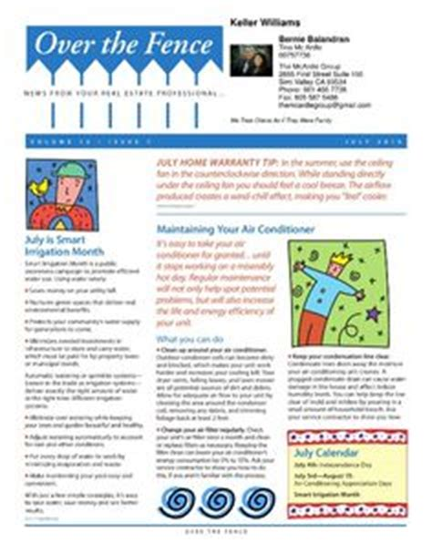 neighborhood newsletter template make a monthly newsletter for your neighborhood