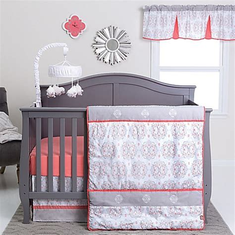 bed bath and beyond valencia buy trend lab 174 valencia 3 piece crib bedding set from bed