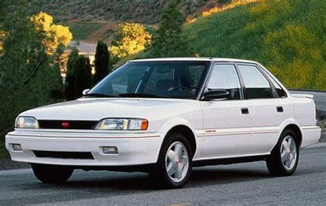 guilty pleasure: geo prizm gsi