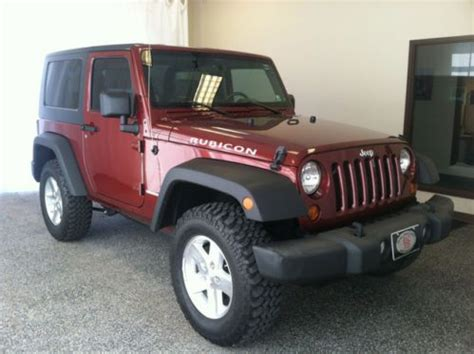 jeep wrangler maroon interior purchase used maroon manual transmission black and tan