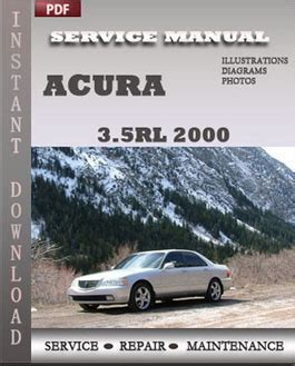 acura 3 5rl 2000 service manual pdf download servicerepairmanualdownload com