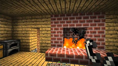 How To Make In A Fireplace by How To Make A Fireplace And Chimney In Minecraft