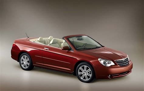 Chrysler Sebring Convertibles For Sale by 2008 Chrysler Sebring Convertible Review Ratings Specs