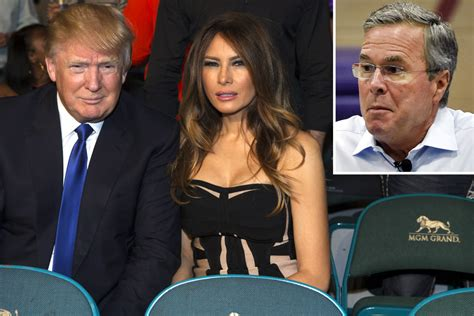 donald trump wife donald trump s wife wants him to lay off jeb bush