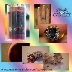 Jewelry In Candles J by Jewelry In Candles On Candles Jewelry And Soy