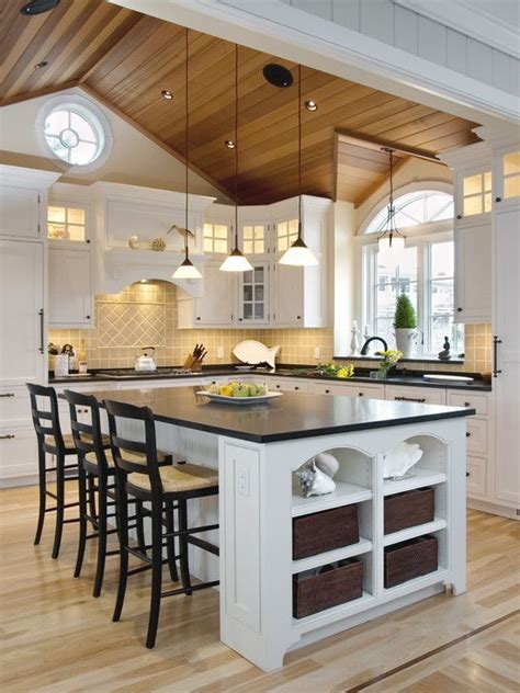 ideas vaulted ceiling kitchen pinterest beamed ceilings vaulted ceiling lighting high ceilings