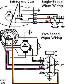 i a 1970 vw bug and i sent for a new windshield wiper motor the wiring diagrams for this