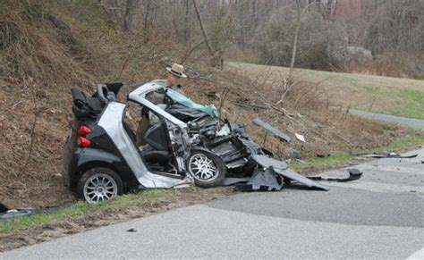 smart car crash is the smart car crash resistant and safe as a small car