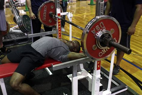 bench press contest marines pump iron by competing in bench press competition