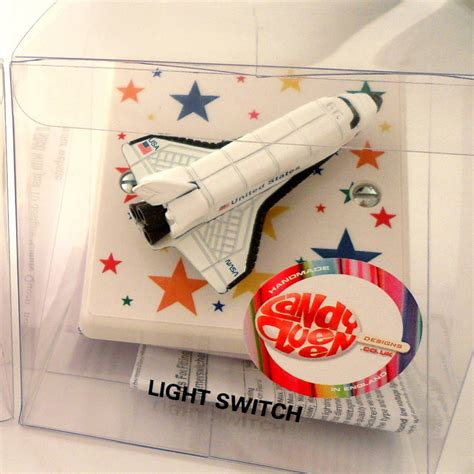rocket themed bedroom children s space rocket themed bedroom light switch by candy queen designs