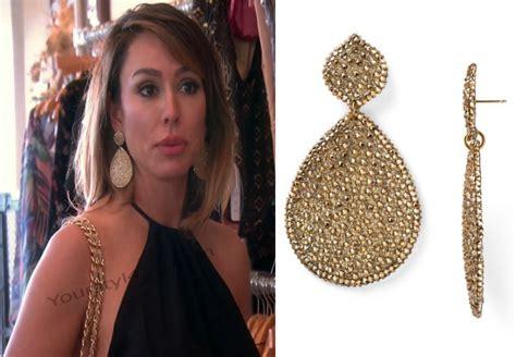 what earrings do the real houses wifes of beverly hills wear orange county jewelry show style guru fashion glitz