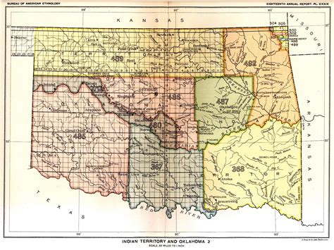 indian territory map united states indian land cessions in the u s indian territory