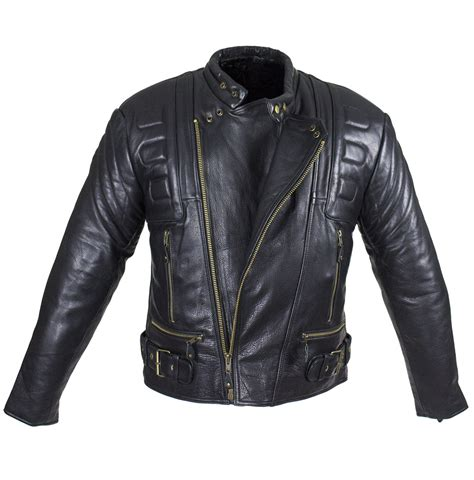 padded leather motorcycle jacket mens leather padded racer style motorcycle jacket mlsj19