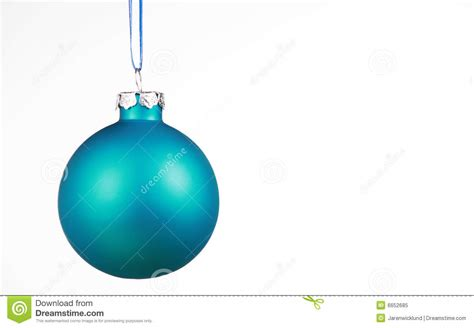 soft blue ornament on white royalty free stock photo