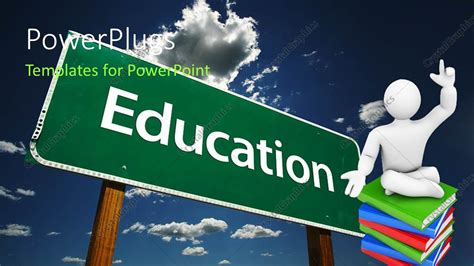 education theme words powerpoint template education theme with education word