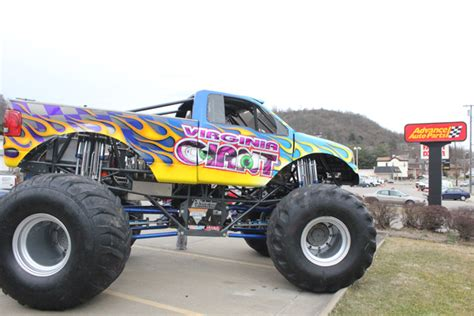monster truck show virginia monster jam photos wheeling west virgina february 24