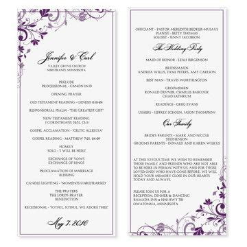 Microsoft Office Wedding Program Templates by 17 Best Images About Programs On Program