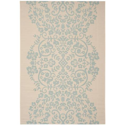 Martha Stewart Indoor Outdoor Rugs Safavieh Martha Stewart Rainwater 4 Ft X 5 Ft 7 In Indoor Outdoor Area Rug Msr4256 223 4