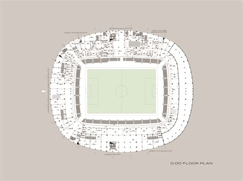 stadium floor plan gallery of mersin stadium bahadir kul architects 21