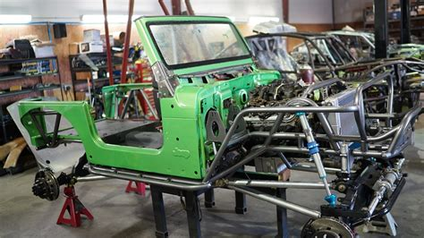 Jeep Chassis Wide Open Design Jeep Chassis Builds