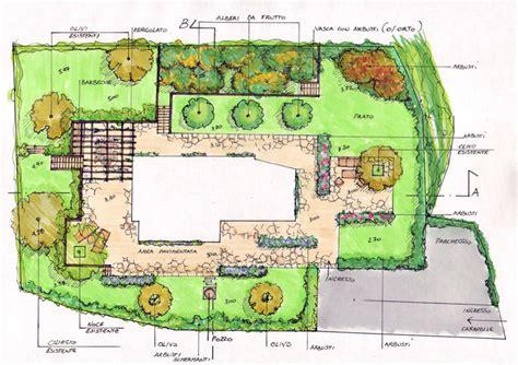 planimetria giardino giardino privato 171 stefania lorenzini architetto e garden