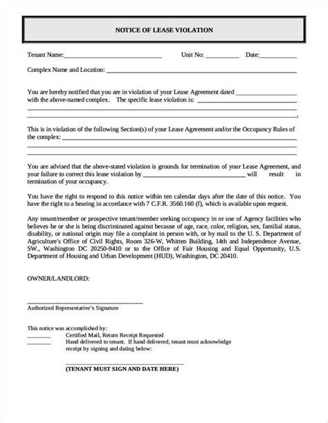 8 Written Warning Letter Free tenant warning letter software developer resume exles