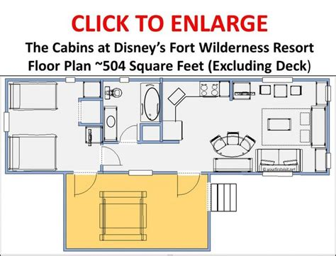 wilderness lodge floor plan review the cabins at disney s fort wilderness resort