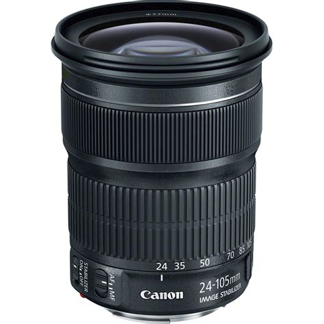 canon ef 24 105mm f 3 5 5 6 is stm lens 9521b002 b h photo