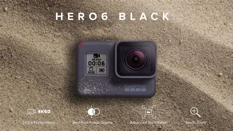 Gopro Hero6 Gopro 6 Black Combo Supreme 32gb Spinindo gopro 6 black shoots 4k at 60 fps better stabilization and hdr photos local records