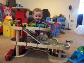 wooden car garage crafts and diy toys
