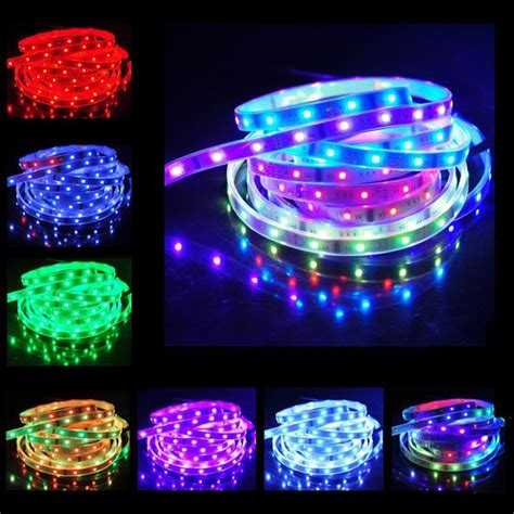 led color changing light strips 12v led light strips outdoor waterproof lights