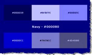 navy color code html color codes blue images