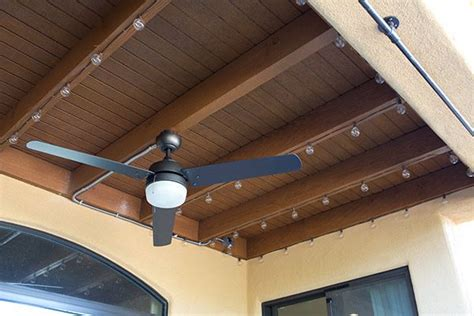 patio ceiling fan installation 16 best images about patio on pits