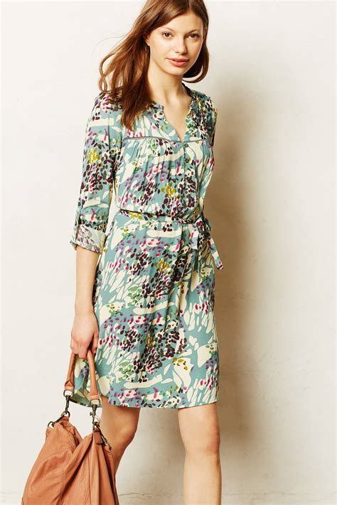 Anthropologie Summer Dress by Effortlessly With Additions To My