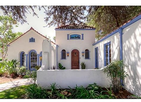 california mission style homes romantic 1921 spanish style home in anaheim ca
