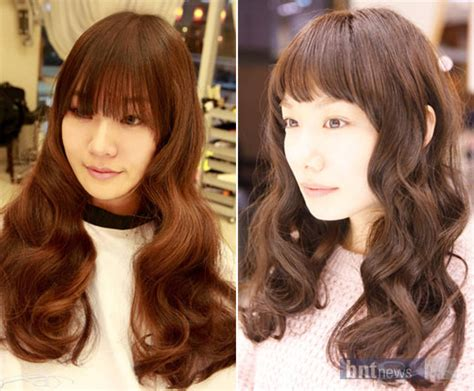 perm hairstyles korean 2014 perms for long hair short hairstyle 2013