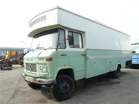 mercedes box truck for sale mercedes l 613 d box truck from netherlands for sale